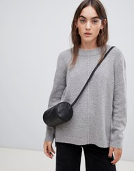 B.Young Round Neck Jumper Med Grey