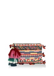 Figue Soma Embellished Pouch Multi