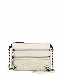 Elliott Lucca Bali 89 Leather Crossbody Bag Cream
