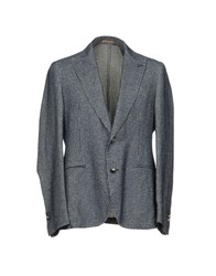 Fradi Suits And Jackets Blazers Dark Blue