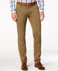 Hugo Boss Orange Men's Archer Slim Fit Chinos Beige
