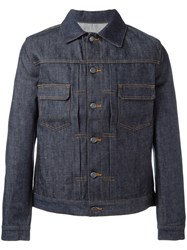 A.P.C. Classic Denim Jacket Blue