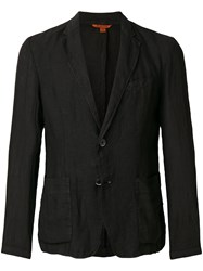 Barena Creased Suit Jacket Black