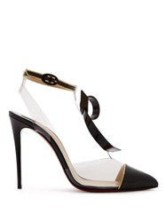 Christian Louboutin Alta Firma Leather And Perspex Pumps Black