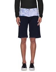 Macchia J Trousers Bermuda Shorts Men Dark Blue