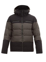 Fusalp Lauzon Soft Shell Down Filled Jacket Black Grey