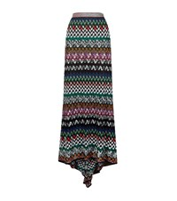 Missoni Crochet Maxi Skirt Female Multi