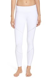 Alo Yoga Women's 'Talia' Leggings White White Glossy