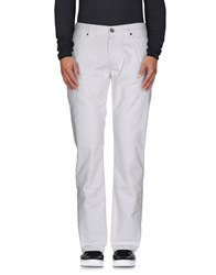 Bikkembergs Denim Denim Trousers Men White
