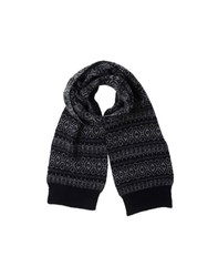 White Mountaineering Accessories Oblong Scarves Men Dark Blue