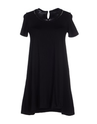 La Camicia Bianca Short Dresses Black