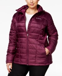 Columbia Plus Size Pacific Post Thermal Coil Jacket Bluebell