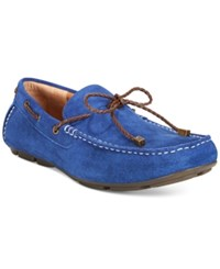 Alfani Trevor Braided Lace Drivers Only At Macy's Men's Shoes Mazarine