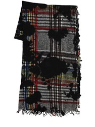 Faliero Sarti George Cashmere And Wool Blend Scarf Multicolor