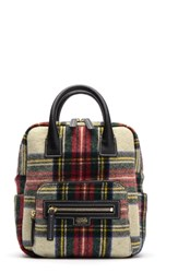 Frances Valentine Tartan Plaid Wool Backpack