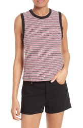Rag And Bone Women's Jean Racerback Cotton Tank
