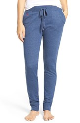 Lauren Ralph Lauren Women's French Terry Jogger Lounge Pants Indigo Heather