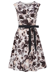 Kaliko Floral Printed Prom Dress Multi