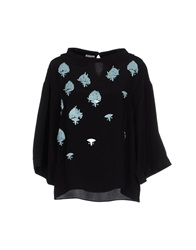 Uniqueness Blouses Black