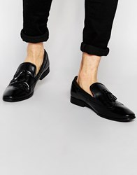 Frank Wright Tassel Loafers Black