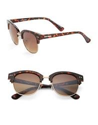 Steve Madden 50Mm Wayfarer Sunglasses Brown Brown