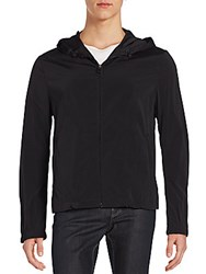 Allegri Hooded Zip Jacket Black
