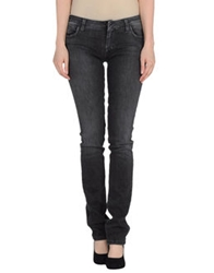 Ring Denim Pants Black