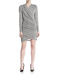 Sweet Pea Ruched Long Sleeve Dress