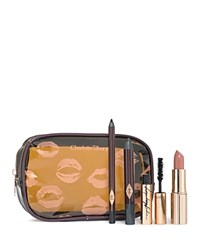 Charlotte Tilbury Quick 'N Easy 5 Minute Instant Makeup Set Smokey Eye Evening Look No Color