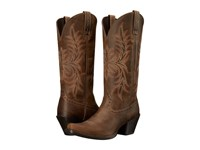 Ariat Round Up Maddox Distressed Brown Cowboy Boots