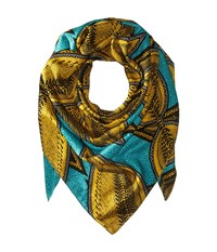 Liebeskind F2179590 Cosilk Scarf Orchid Green Jungle Leafs Scarves Yellow