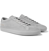 Common Projects Original Achilles Nubuck Sneakers Gray