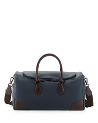 Chassis Leather Kit Bag Navy Dunhill Navy Blue