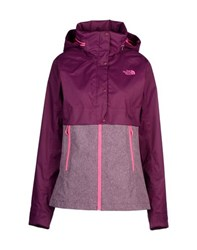 The North Face Coats And Jackets Jackets Women Dark Purple