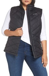 Columbia Plus Size Heavenly Water Resistant Insulated Vest Black