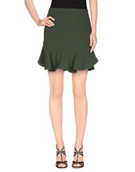 Le Ragazze Di St. Barth Skirts Mini Skirts Women Green