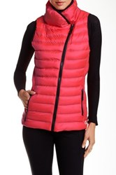 Champion Quilted Performance Vest Pink