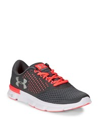 Under Armour Mesh Lace Up Sneakers Grey