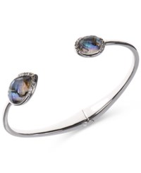 Judith Jack Sterling Silver Abalone And Marcasite Cuff Bracelet