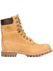 Timberland Lace Up Boots Nude Neutrals