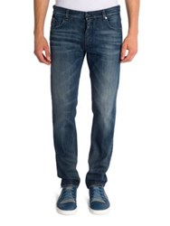 Fendi Slim Fit Jeans Dark Blue