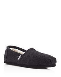 Toms Seasonal Classic Slippers Black
