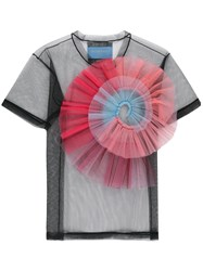 Viktor And Rolf Rainbow Twist T Shirt Black