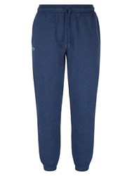 Lacoste Men's Sweatpants In Solid Fleece Blue