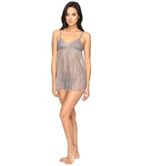 Dkny Sheer Lace Chemise French Grey Women's Lingerie Black