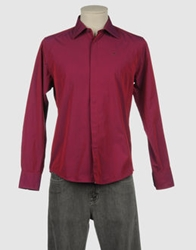Merc Long Sleeve Shirts Garnet