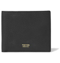 Tom Ford Grained Leather Billfold Wallet Black