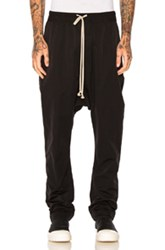 Rick Owens Drkshdw By Long Pant In Black