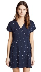 Knot Sisters Laurel Dress Navy Dainty Ditsy