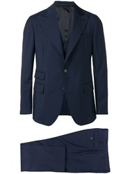 Gabriele Pasini Formal Suit Set Blue